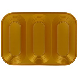"Plastiktablett PP ""X-Table"" 3C Gold 330x230mm (2 Stück)"