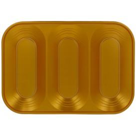 "Plastiktablett PP ""X-Table"" Gold 3C 330x230mm (30 Stück)"