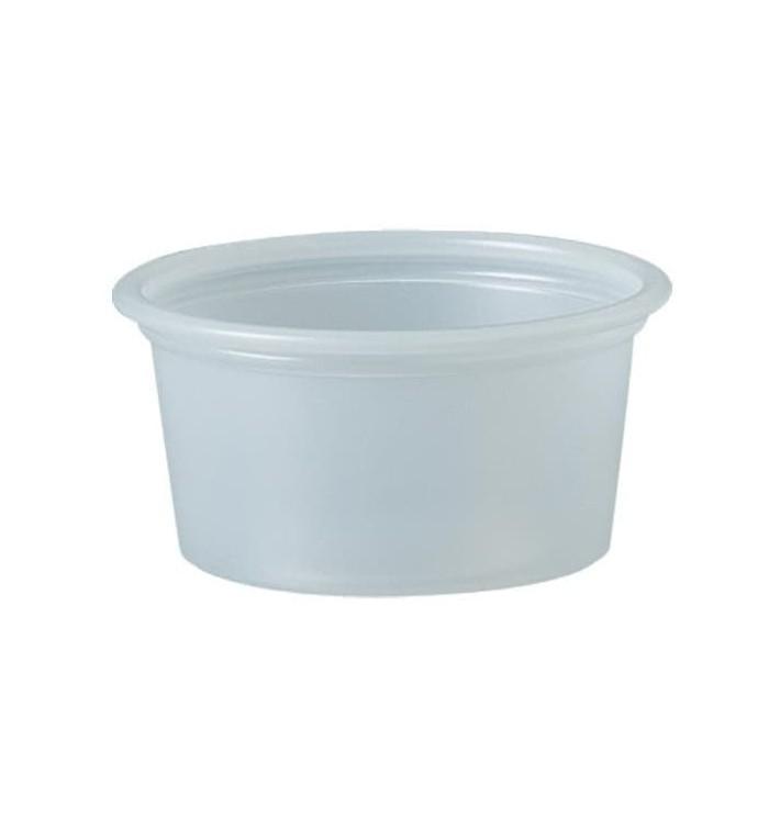 Dressingbecher Plastik PS für Soβen 22ml Ø44,5mm (250 Stück)