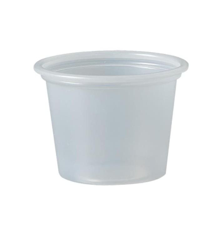 Dressingbecher Plastik PS für Soβen 30ml Ø44,5mm (250 Stück)