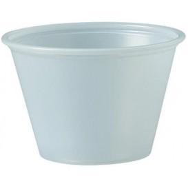 Dressingbecher Plastik PS für Soβen 75ml Ø62mm (2500 Stück)