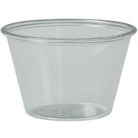 Dressingbecher Plastik PET für Soβen 120ml Ø74mm (250 Stück)