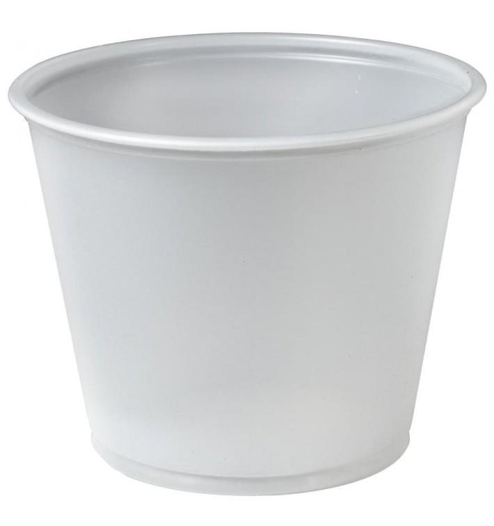 Dressingbecher Plastik PS für Soβen 165ml Ø74mm (2500 Stück)