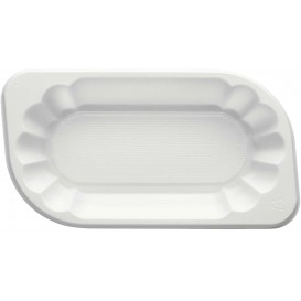 Plastiktablett PS weiß 250ml (250 Stück)