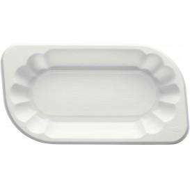 Plastiktablett PS weiß 300ml (1500 Stück)