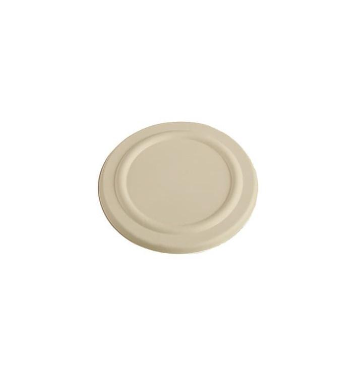 Deckel Flach für Becher aus Zuckerrohr 230ml Ø80mm (100 Stück)