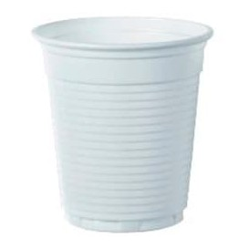 Plastikbecher Weiß 166ml Ø7,0cm (100 Stück)