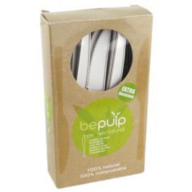 Messer Biologisch Abbaubar CPLA Weiß 160mm verpackt (500 Stück)