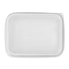 Plastikdeckel Transparent für Servierplatten 157x112x51mm (100 Stück)