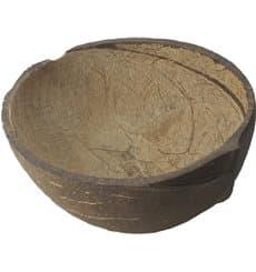 Natürliche Kokosnusse-Schale 150ml (10 Stück)