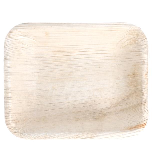 Palmblatttablett Rechteckig 16x12,5x3cm (200 Stück)