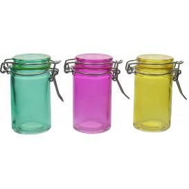 Einmachglas Verschiedene Farben 70 ml (96 Einh.)