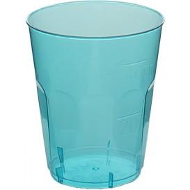 """Hartplastikbecher """"Diamant"""" PS Blau Transp. Cristal 50ml (20 Stück)"""