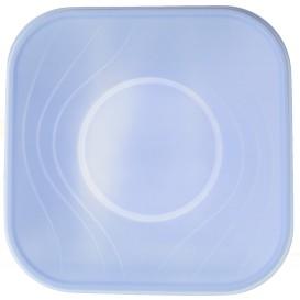 """Viereckige Plastikschale PP """"X-Table"""" Violett 180x180mm (8 Stück)"""