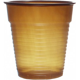 Plastikbecher Braun 166ml (3000 Stück)