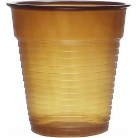 Plastikbecher Braun 166ml (100 Stück)