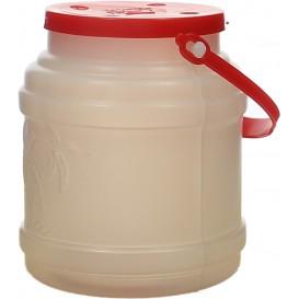 Plastikflasche mit Henkel lichtdurchlässig 500ml (10 Stück)
