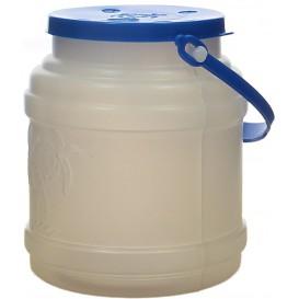 Plastikflasche mit Henkel lichtdurchlässig 500ml (100 Stück)