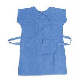 Einwegkittel für Patienten RX blau Polypropylen XL (10 Stück)