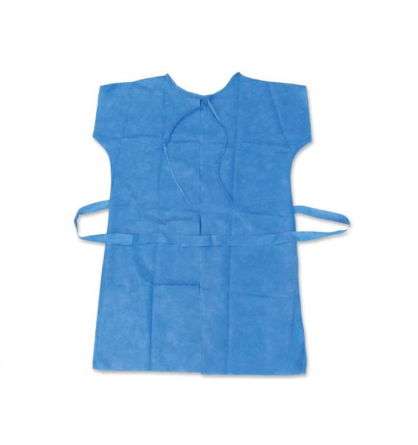 Einwegkittel für Patienten RX blau Polypropylen XL (100 Stück)
