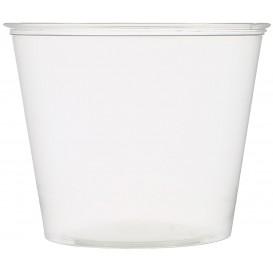Dressingbecher Plastik PET für Soβen 165ml Ø74mm (250 Stück)