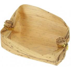 Mini Korb us Bambus Verkostung 3,8x5,8x3,8cm (25 Einh.)