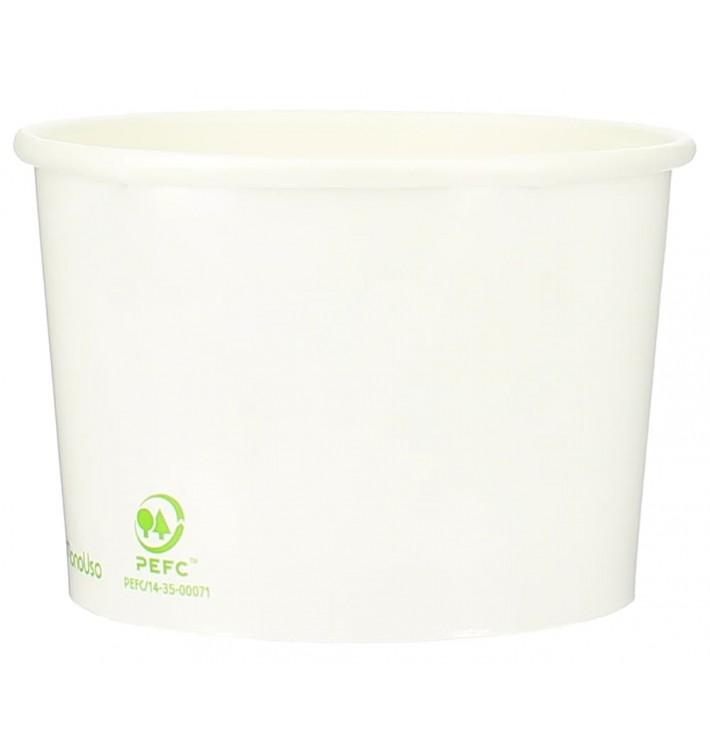 Pappbecher Bio für Eis 310ml (50 Stück)