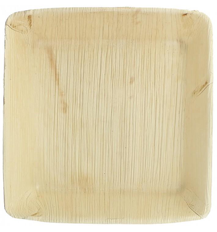 Palmblatt Teller tief quadratisch 16x16cm (25 Stück)