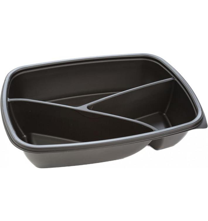 Plastikbehälter rechteckig schwarz 3G 23x17x5cm (300 Stück)