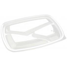 Deckel für Plastikbehälter schwarz 3G 23x17cm (75 Stück)