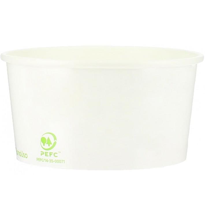 Pappbecher Ökologische für Eis 175ml (2.000 Stück)