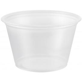 Dressingbecher Plastik PP für Soβen 120ml Ø73mm (125 Stück)