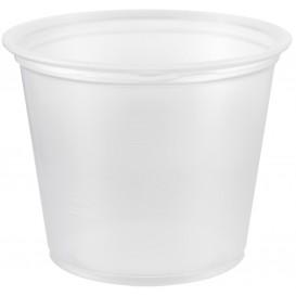 Dressingbecher Plastik PP für Soβen 165ml Ø73mm (125 Stück)