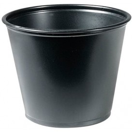Dressingbecher PP für Soβen Schwarz 165ml Ø73mm (2.500 Stück)