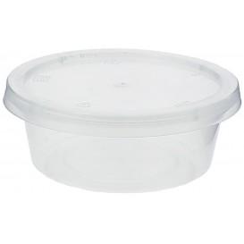 Dressingbecher für Soβen mit Deckel 85ml (100 Stück)