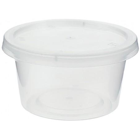 Dressingbecher für Soβen mit Deckel 120ml (100 Stück)