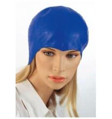 Strähnenhaube aus Polyethylen Blau (50 Stück)