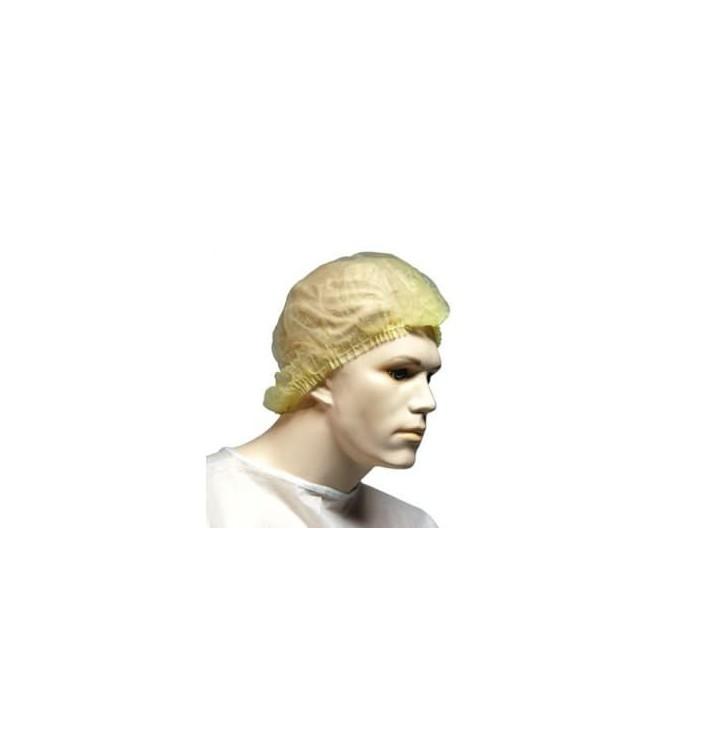 Gorros de Polipropileno Acordeon Blanco 100 Uds.