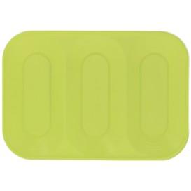 "Plastiktablett PP ""X-Table"" Lime 3C 330x230mm (30 Stück)"