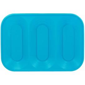 "Plastiktablett PP ""X-Table"" 3C Türkis 330x230mm (2 Stück)"