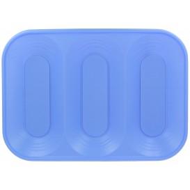 Plastiktablett 3C Violett PP 330x230mm (2 Stück)