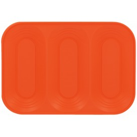 "Plastiktablett PP ""X-Table"" 3C Orange 330x230mm (2 Stück)"