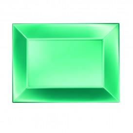 Plastiktablett Grün Nice Pearl PP 280x190mm (12 Stück)