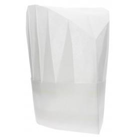 Kochmütze Continental Polypropylen weiß (100 Stück)