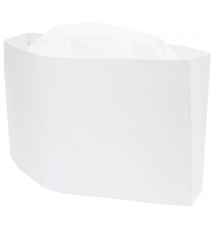 Schiffchenmütze Papier weiß (1000 Stück)