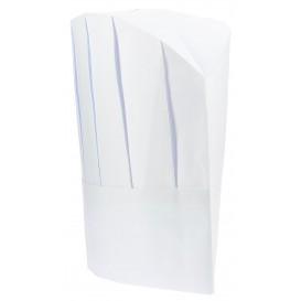 Kochmütze Continental Papier weiß (100 Stück)