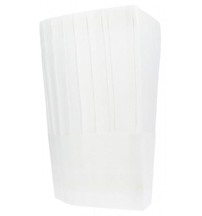 Kochmütze Le Chef Polypropylen weiß (100 Stück)