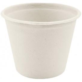 Soβenbecher aus Zuckerrohr Weiß 450ml (50 Stück)