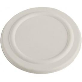 Deckel Zuckerrohr Weiß für Suppenbecher 450ml Ø110mm (50 Stück)