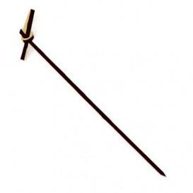 Bambusspieße Schleife Schwarz 90mm (10000 Stück)